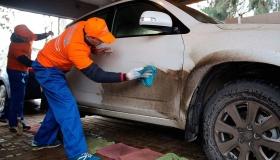 Можно ли помыть автомобиль без воды? Есть простое средство
