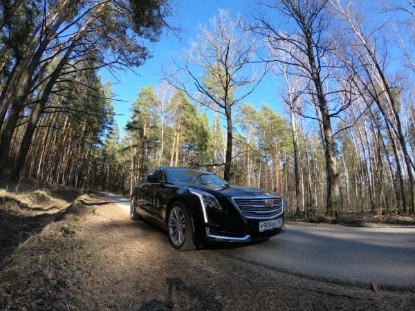 Cadillac CT6 фото