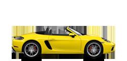 Porsche 718 Boxster Эс 2016-2021 новый кузов комплектации и цены