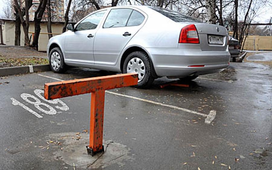 захват парковочного места